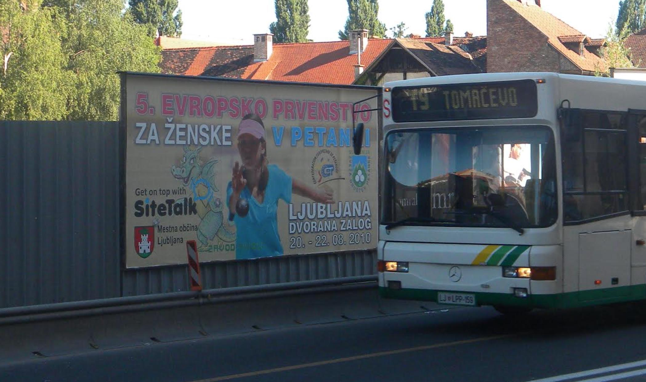 Petankarska simfonija v Ljubljani