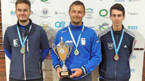 Jure Kozjek prvič tudi državni prvak